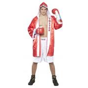 Боксерский халат TOP TEN «GET IN THE RING»